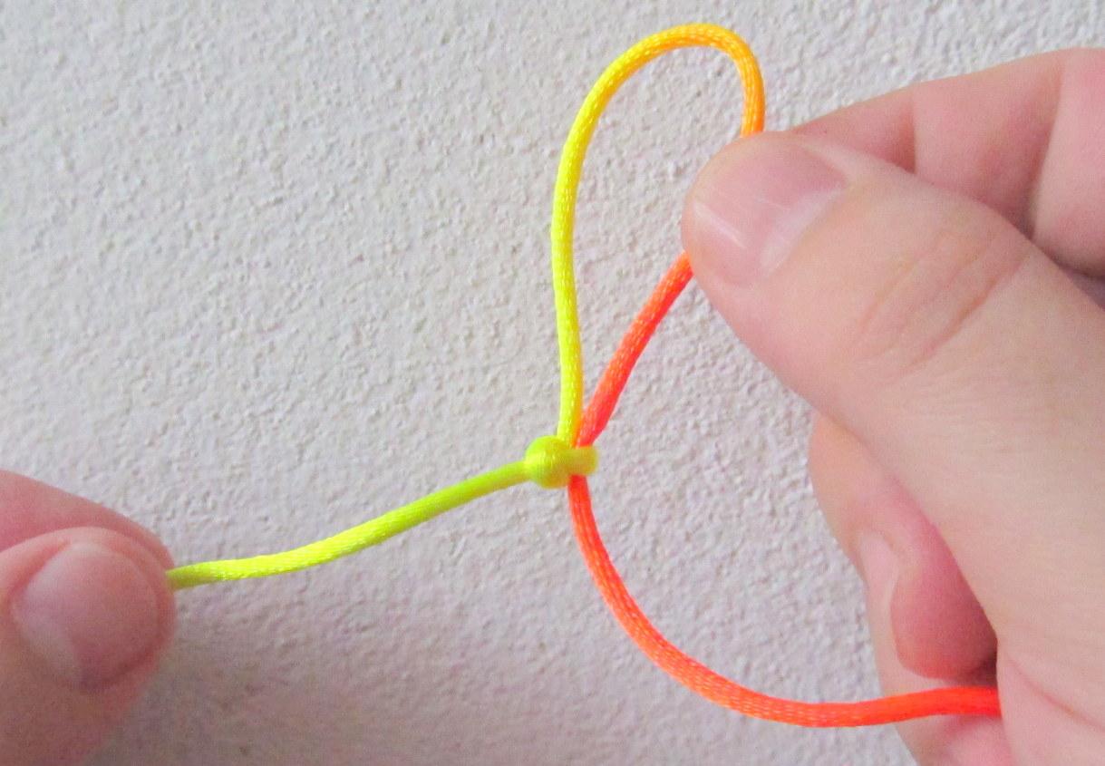 sznureczek - krok trzeci